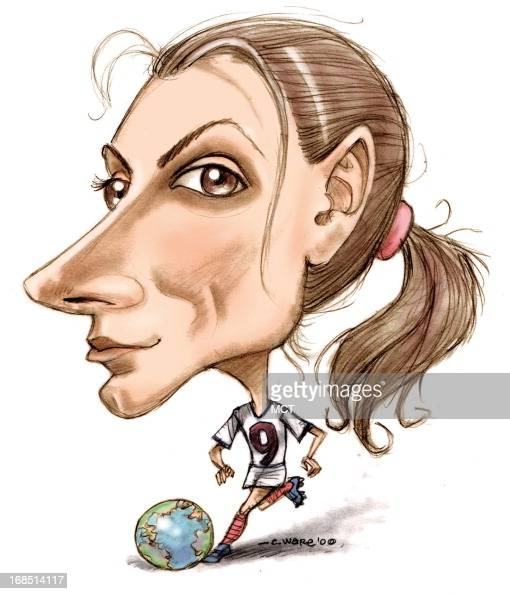 caricature mia hamm pictures getty images