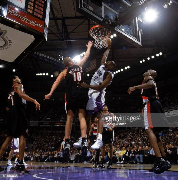 Portland Trail Blazers Kings: Chris Webber Basketball Player Stock Photos And Pictures