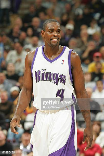 Chris Webber of the Sacramento Kings walks on the court during the game against the Indiana Pacers on December 3 2004 at Arco Arena in Sacramento...