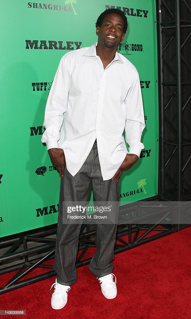 Chris Weber attends the Premiere of Magnolia Pictures' 'Marley' at the ArcLight Hollywood on April 17, 2012 in Hollywood, California.
