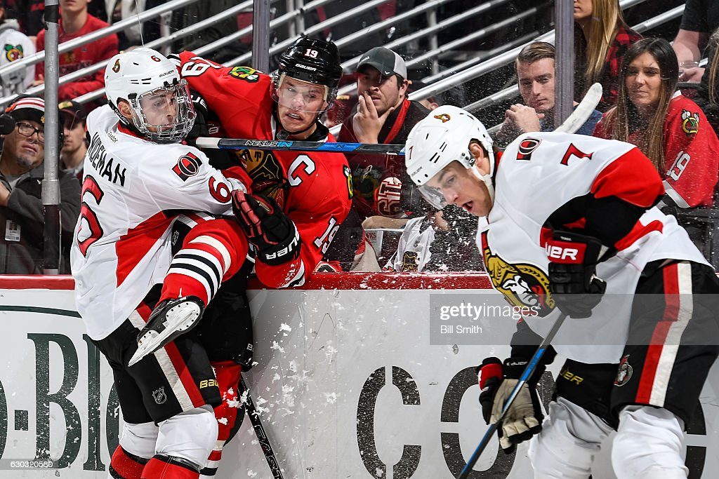 Ottawa Senators v Chicago Blackhawks