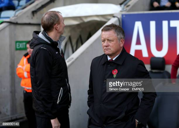 Chris Wilder Northampton Town manager
