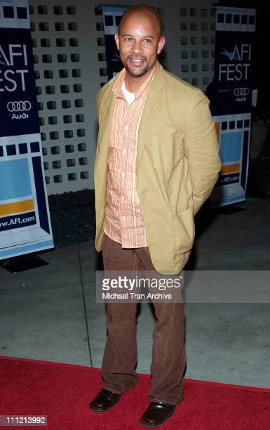 Chris Williams during AFI Fest 2005 'The World's Fastest Indian' Los Angeles Premiere Arrivals at Cinerama Dome Arclight in Hollywood California...