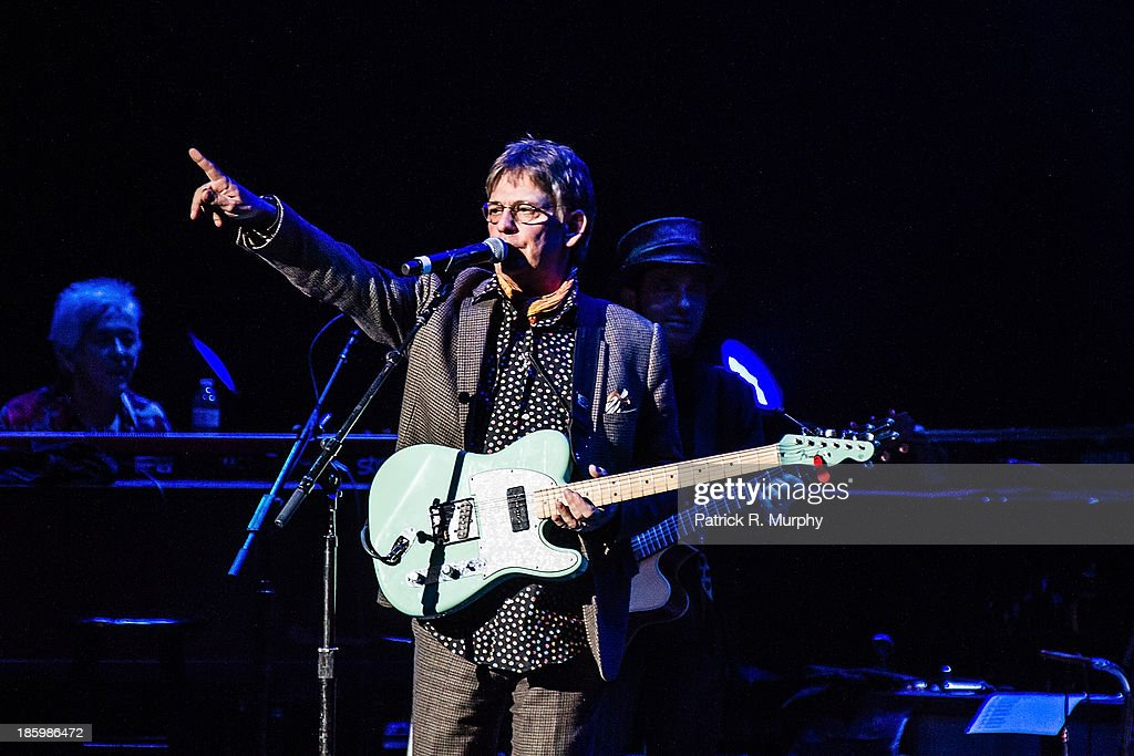 Chris Wilson performs at the 18th annual Music Masters series honoring The Rolling Stones at the State Theatre on October 26, 2013 in Cleveland, Ohio.