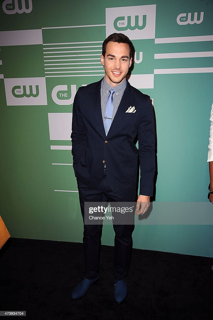 Chris Wood attends The CW Network's New York 2015 Upfront Presentation at The London Hotel on May 14, 2015 in New York City.
