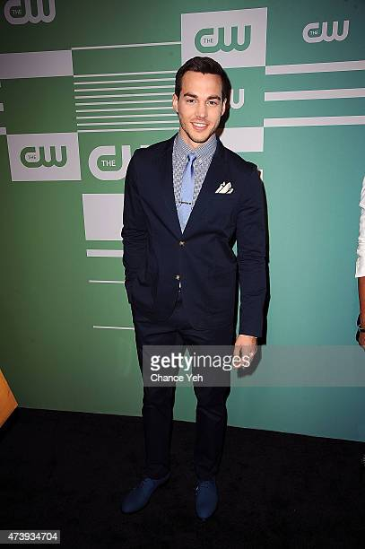 Chris Wood attends The CW Network's New York 2015 Upfront Presentation at The London Hotel on May 14 2015 in New York City