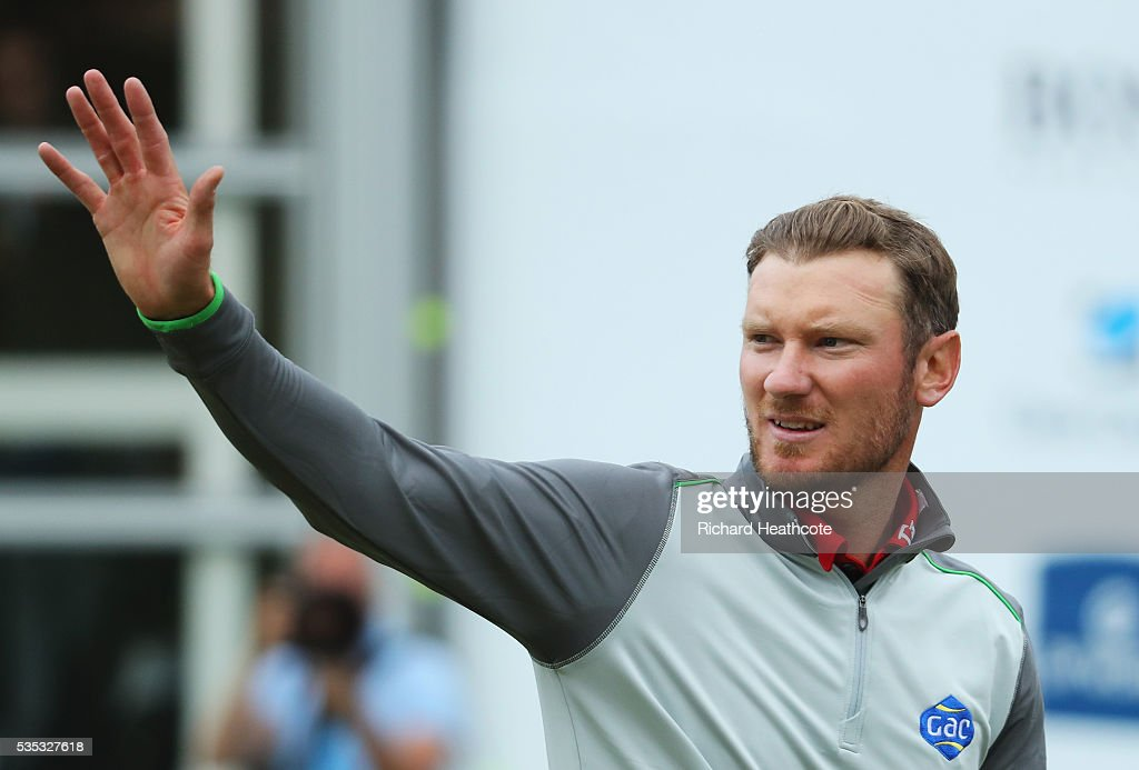 <a gi-track='captionPersonalityLinkClicked' href=/galleries/search?phrase=Chris+Wood+-+Golfer&family=editorial&specificpeople=4601133 ng-click='$event.stopPropagation()'>Chris Wood</a> of England celebrates victory on the 18th green during day four of the BMW PGA Championship at Wentworth on May 29, 2016 in Virginia Water, England.