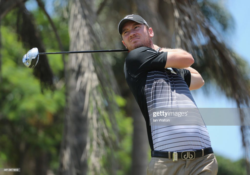 Chris Wood of England during the Pro-Am of the 2014 Volvo Golf Champions at Durban Country Club on January 8, 2014 in Durban, South Africa.