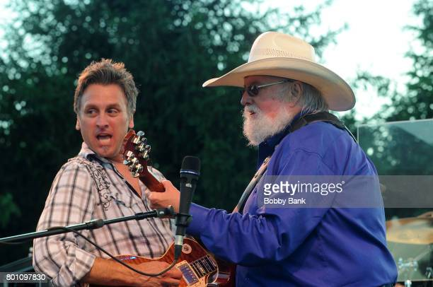 Chris Wormer and Charlie Daniels of The Charlie Daniels Band performs at the 8th Annual Rock Ribs Ridges Festival at Sussex County Fairgrounds on...