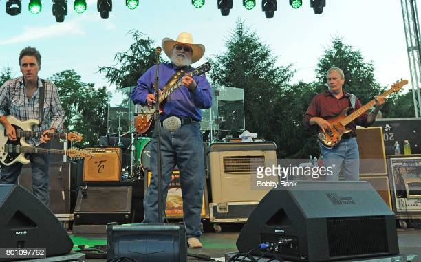 Chris Wormer Charlie Daniels and Charlie Hayward of The Charlie Daniels Band performs at the 8th Annual Rock Ribs Ridges Festival at Sussex County...