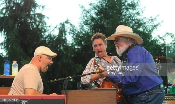 Chris Wormer Charlie Daniels and Shannon Wickline of The Charlie Daniels Band perform at the 8th Annual Rock Ribs Ridges Festival at Sussex County...