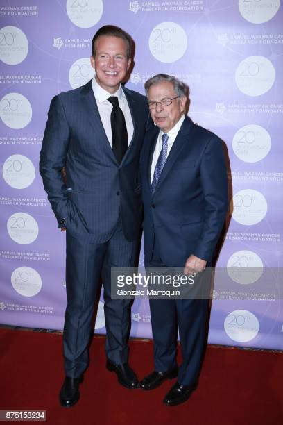 Chris Wragge and Dr Samuel Waxman during the Dr Samuel Waxman Cancer Research Foundation's 20th Anniversary Gala COLLABORATING FOR A CURE on November...