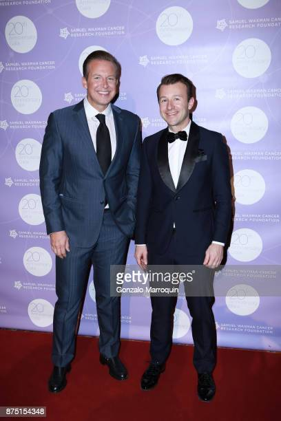 Chris Wragge and Lucas Hunt during the Samuel Waxman Cancer Research Foundation's 20th Anniversary Gala COLLABORATING FOR A CURE on November 16 2017...