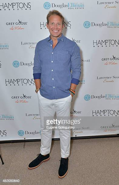 Chris Wragge attend Hamptons Magazine Celebrates Cover Stars Katie Lee Stephanie March and Ali Wentworth At ArtHamptons on July 11 2014 in...