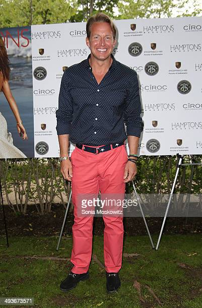 Chris Wragge attend the Hamptons Magazine summer kick off party at Southampton Social Club on May 24 2014 in Southampton New York
