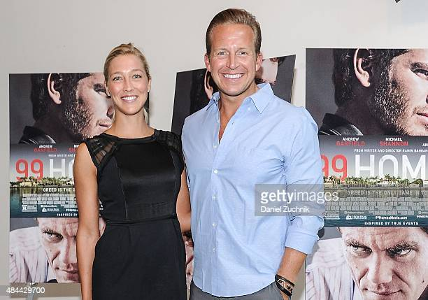 Chris Wragge attends the '99 Homes' New York Screening at Celeste Bartos Theater at the Museum of Modern Art on August 18 2015 in New York City