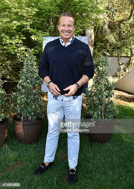Chris Wragge attends the Hamptons Magazine Celebration of Its Memorial Day KickOff Event With Cover Star Tracy Anderson on May 23 2015 in Southampton...