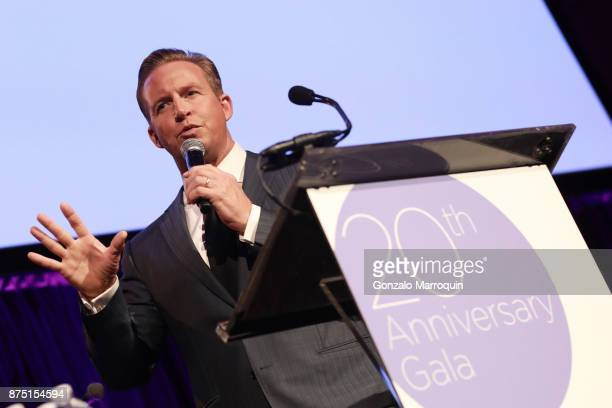 Chris Wragge during the Samuel Waxman Cancer Research Foundation's 20th Anniversary Gala COLLABORATING FOR A CURE on November 16 2017 in New York City
