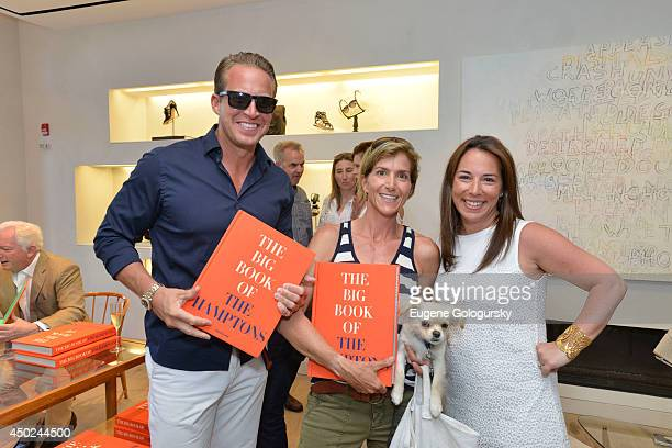 Chris Wragge Gina Bradley and Samantha Yanks attend the Elie Tahari And Hamptons Magazine Celebrate The Launch Of Assouline's THE BIG BOOK OF THE...
