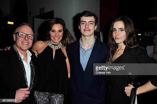 Chris Young Countess Luann De Lesseps Noel De Lesseps and Victoria De Lesseps attend Resident Magazine's The New Year Edition Cover Launch Party With...