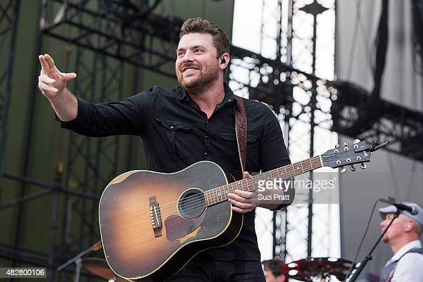 Chris Young performs at the Watershed Music Festival at The Gorge on August 2 2015 in George Washington
