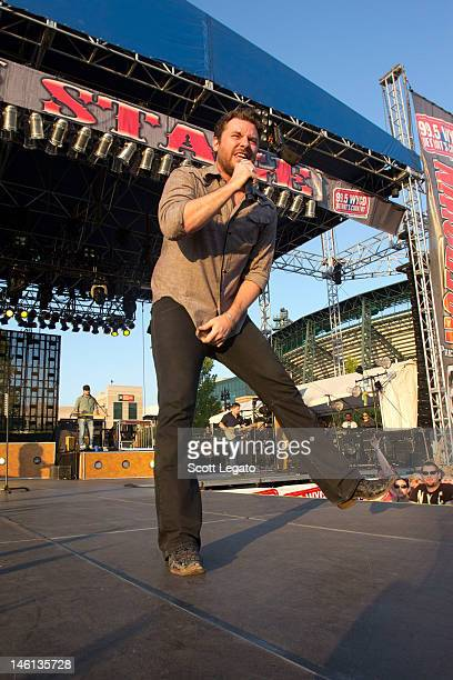 Chris Young performs during the 2012 Downtown Hoedown at Comerica Park on June 10 2012 in Detroit Michigan