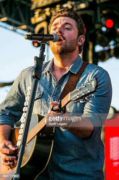Chris Young performs during the 2014 WYCD Downtown Hoedown at Comerica Park on May 30 2014 in Detroit Michigan