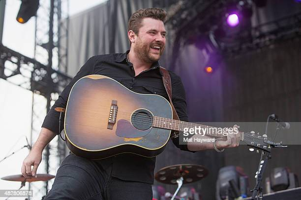 Chris Young performs on stage during the Watershed Music Festival at The Gorge on August 2 2015 in George Washington