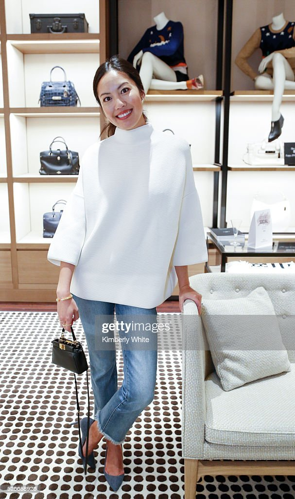 Chriselle Lim at the Westfield x Who What Wear Presents: Boss Notes At Westfield Valley Fair Mall on April 30, 2016 in Santa Clara, California.