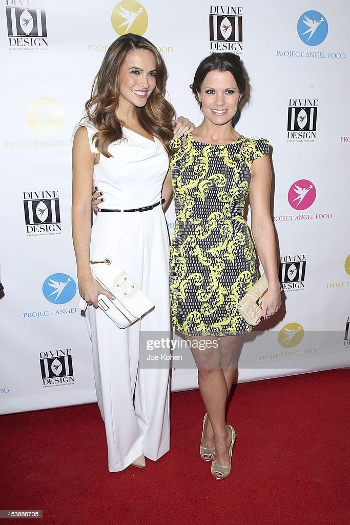 Chrishell Stause and Melissa Claire Egan attends the Opening Night Party For Divine Design 2013 on December 5, 2013 in Beverly Hills, California.