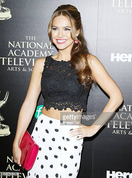 Chrishell Stause arrives at the 41st Annual Daytime Emmy Awards held at The Beverly Hilton Hotel on June 22 2014 in Beverly Hills California