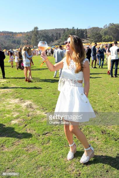 Chrishell Stause at the Eighth Annual Veuve Clicquot Polo Classic on October 14 2017 in Los Angeles California