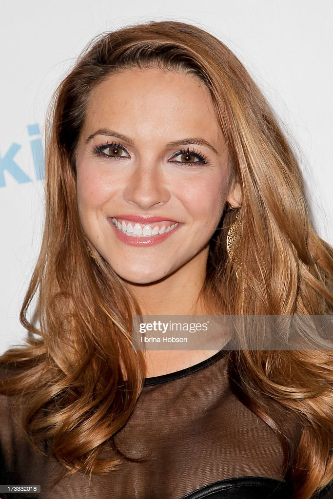 <a gi-track='captionPersonalityLinkClicked' href=/galleries/search?phrase=Chrishell+Stause&family=editorial&specificpeople=675283 ng-click='$event.stopPropagation()'>Chrishell Stause</a> attends the Gents at Kitson launch event at Kitson on Roberston on July 11, 2013 in Beverly Hills, California.