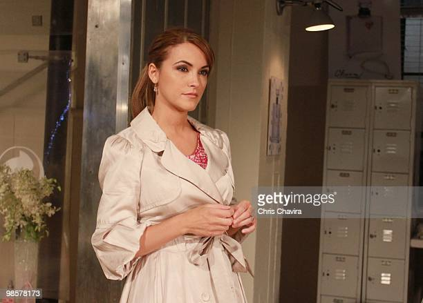 CHILDREN Chrishell Stause in a scene that airs the week of April 26 2010 on ABC Daytime's 'All My Children' 'All My Children' airs MondayFriday on...