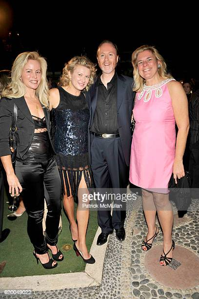 Chrissie Erpf Lady Liliana Cavendish Prince Pierre D'Arenberg and Eveylen Tompkins attend HRH Prince Dimitri of Yugoslavia Jewelry Collection...
