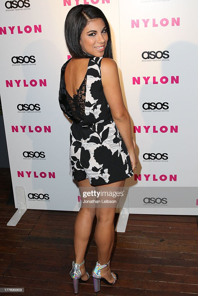 Chrissie Fit attends the NYLON, ASOS + Cover Star Emily VanCamp Celebrate The September Issue At The Redbury at The Redbury Hotel on August 24, 2013 in Hollywood, California.