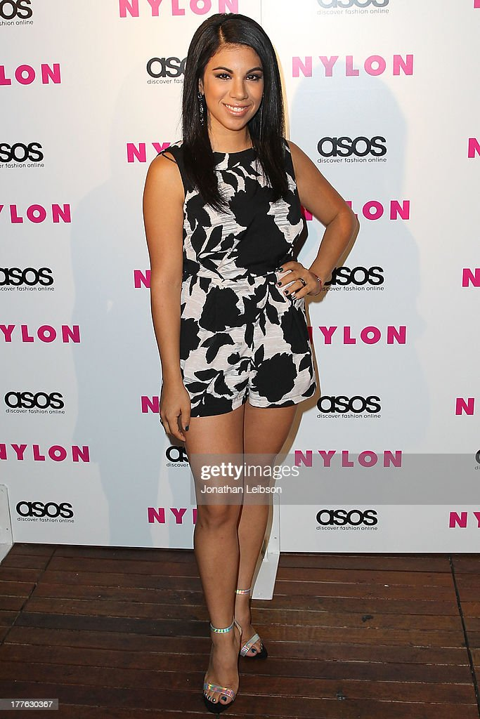 <a gi-track='captionPersonalityLinkClicked' href=/galleries/search?phrase=Chrissie+Fit&family=editorial&specificpeople=8807904 ng-click='$event.stopPropagation()'>Chrissie Fit</a> attends the NYLON, ASOS + Cover Star Emily VanCamp Celebrate The September Issue At The Redbury at The Redbury Hotel on August 24, 2013 in Hollywood, California.