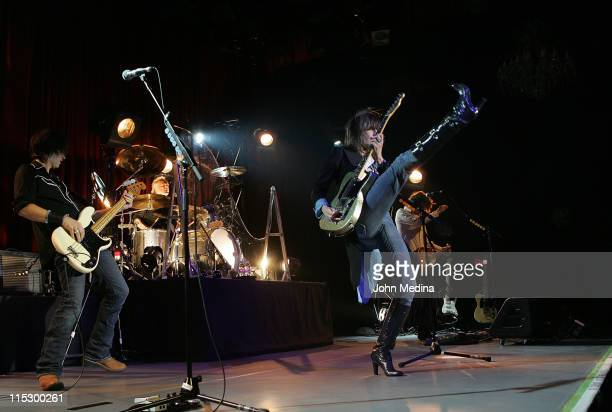Chrissie Hynde and the Pretenders perform on March 15 2009 at The Fillmore in San Francisco California