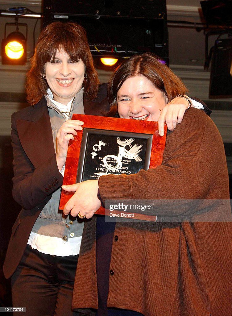 Chrissie Hynde & Helen Terry, Women Of The Year Award In Aid Of Nordoff Robins Music Therapy & The Brit Trust, A Night When Women In The Music Business Are Honored By The Peers.
