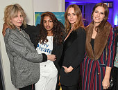 Chrissie Hynde MIA Stella McCartney and Dasha Zhukova attend a cast and crew screening of 'This Beautiful Fantastic' at BAFTA on February 5 2016 in...