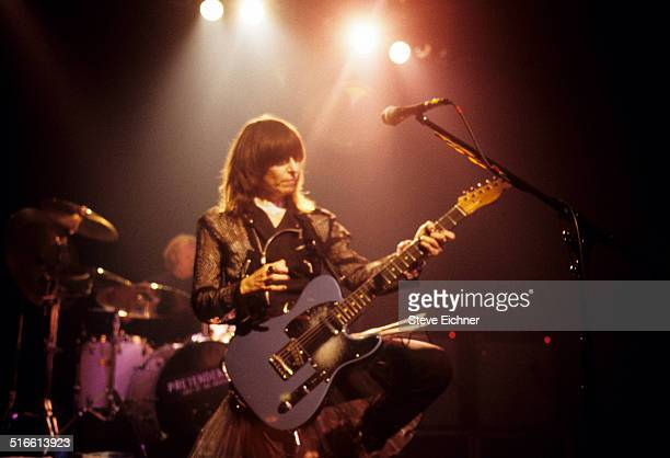 Chrissie Hynde of Pretenders performs at Irving Plaza New York May 24 1994