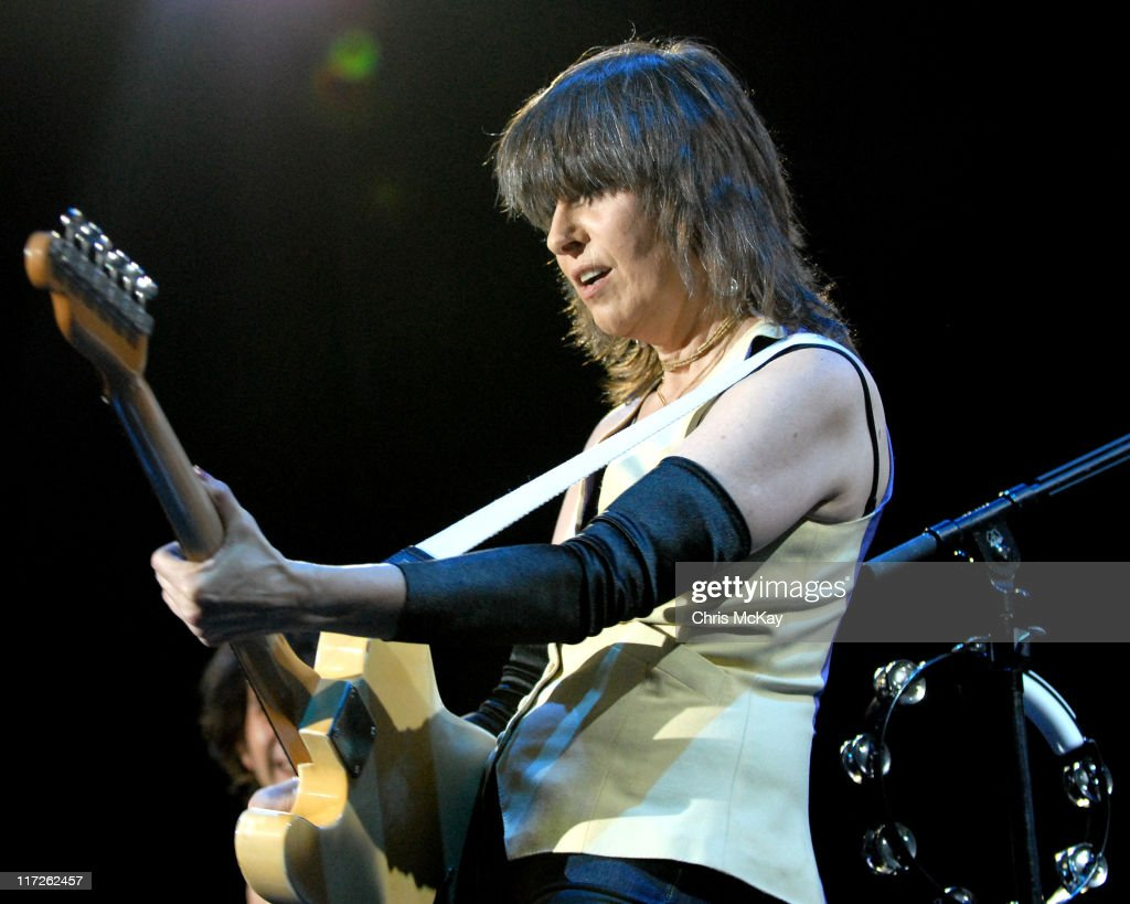 Chrissie Hynde of The Pretenders during The Pretenders at The Arena at Gwinnett - November 22, 2006 at The Arena At Gwinnett in Duluth, Georgia, United States.