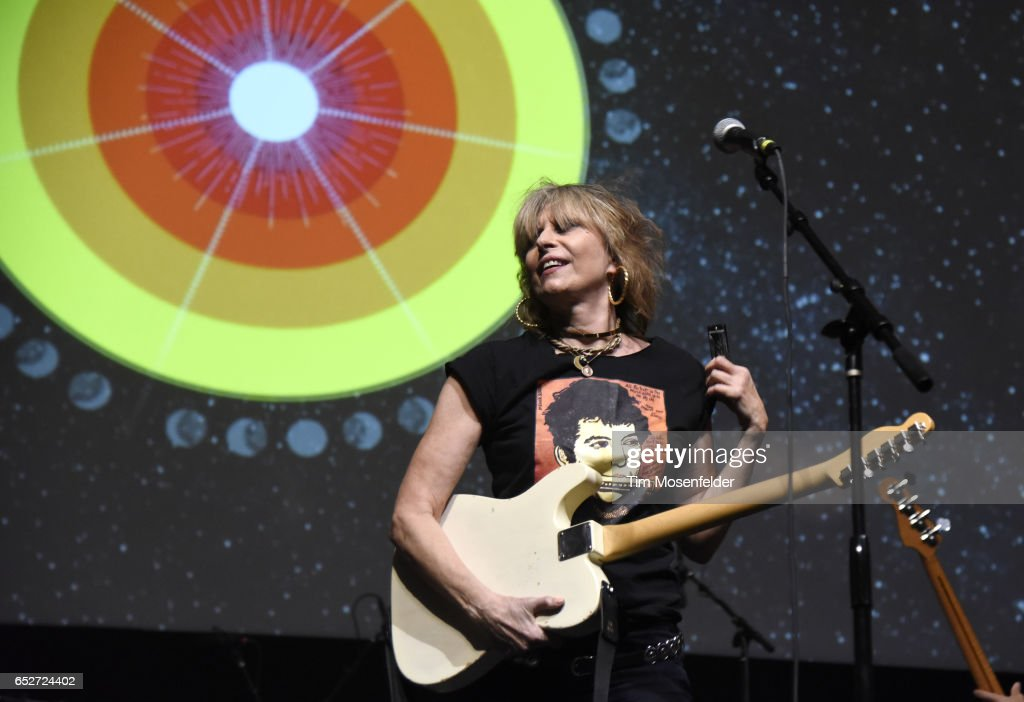 Chrissie Hynde of The Pretenders performs during the 35th Annual Austin Music Awards at the 2017 SXSW Conference And Festivals at ACL Live on March 12, 2017 in Austin, Texas.