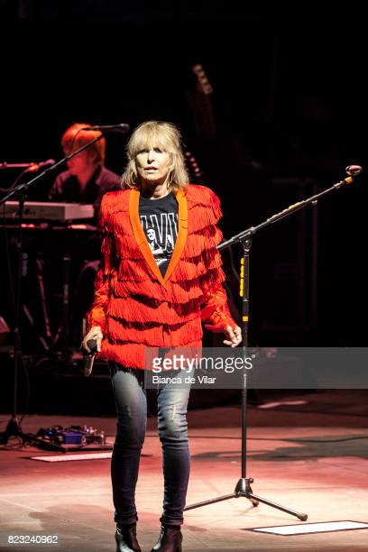 Chrissie Hynde of The Pretenders performs on stage at Starlite Festival on July 26 2017 in Marbella Spain
