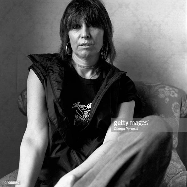 Chrissie Hynde of the Pretenders promotes her new CD Loose Screw