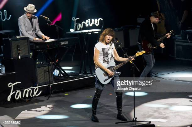 Chrissie Hynde performs as part of the iTunes Festival at The Roundhouse on September 16 2014 in London England