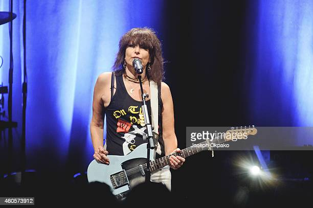 Chrissie Hynde performs at KOKO on December 16 2014 in London England