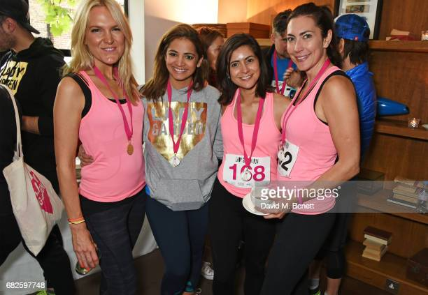 Chrissie Reeves Katy Wickremesinghe Lucy Verasamy and Pippa Jones attends the Lady Garden brunch following the 5K 10K Fun Run in aid of Silent No...