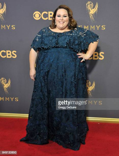 Chrissy Metz arrives at the 69th Annual Primetime Emmy Awards at Microsoft Theater on September 17 2017 in Los Angeles California