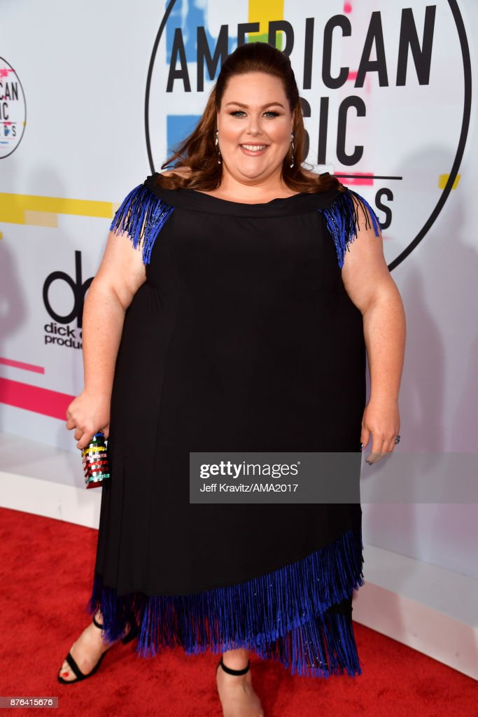 Chrissy Metz attends the 2017 American Music Awards at Microsoft Theater on November 19, 2017 in Los Angeles, California.